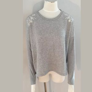 American Eagle Outfitters Crew Ribbed Sweater XS